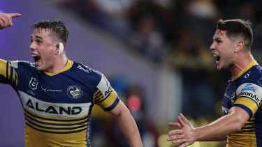 Reed Mahoney has earned a new Eels contract.