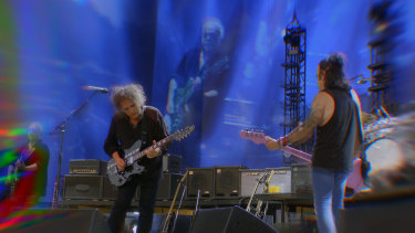 """In cinemas next month, director Tim Pope's film of The Cure's 40th anniversary concert in Hyde Park captures the band's """"epic scale and its quirkiness"""", he says."""