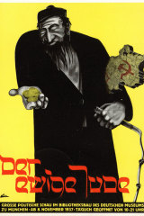 A poster for 1937 Nazi exhibition, The Eternal Jew.