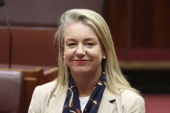 Nationals Senate leader Bridget McKenzie said the party room had the right to clear the policy before it was embraced by the party.