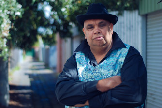 Kutcha Edwards is among the artists performing at Port Fairy's Reardon Theatre next month.