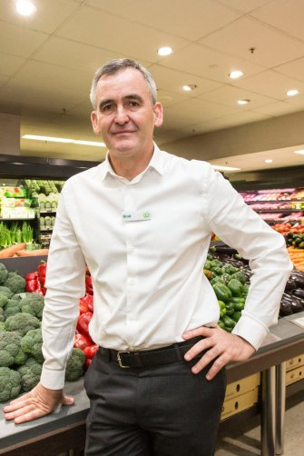 Brad Banducci in 2016 after taking the reins at Woolworths.