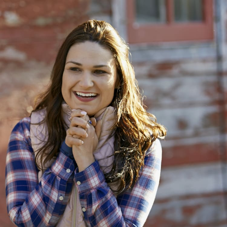 Abby Finkenauer is running for Congress in Iowa's first district.