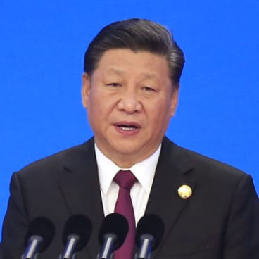 Xi Jinping at the opening ceremony for the China International Import Expo in Shanghai.