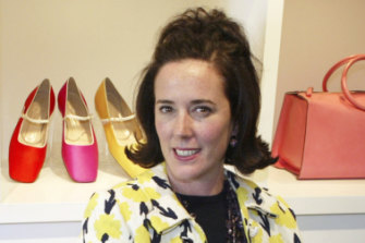 Fashion designer Kate Spade, who died on June 5.