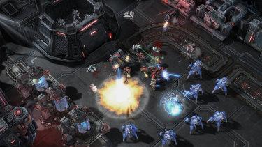 StarCraft II was released in 2010.