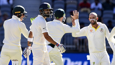 The first Test match at Perth Stadium between Australia and India last December was a testy affair.