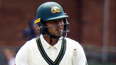 Usman Khawaja will play Shield cricket in a bid to be fit for the first Test against India.