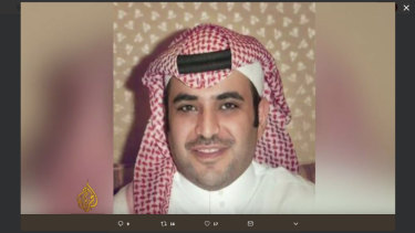 Saud al-Qahtani, a former top aide for Saudi Crown Prince Mohammed bin Salman.