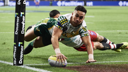 'Nobody gave us a chance': Cook Islands take down Tonga at world nines