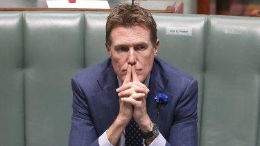 Under scrutiny: former prime minister-in-waiting Christian Porter.