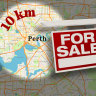 Suburbs within 10km of Perth's CBD with the cheapest land revealed