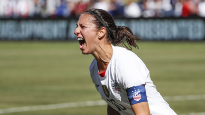 Women's World Cup winner 'wants to put a helmet on' and take shot at NFL