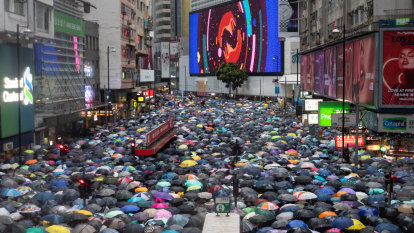 Reassembled and regenerated: Hong Kong protest puts pressure back on China