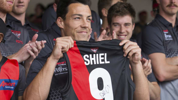 New Bomber Dylan Shiel to wear No.9