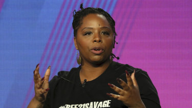 """We want something for our vote"": Patrisse Cullors, Black Lives Matter co-founder."