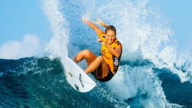 Australia's Stephanie Gilmore has been inducted into surfing's Walk of Fame.