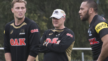 No regrets: Griffin was sacked by the Panthers in 2018.