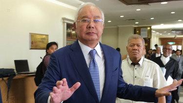 Najib Razak, Malaysia's former prime minister.