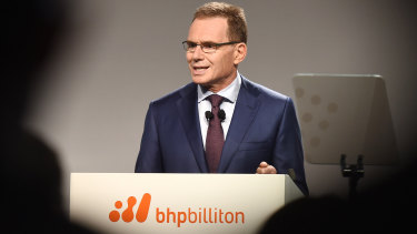 Andrew McKenzie, chief executive officer of BHP Billiton, has pledged the company will get behind a zero-emissions agenda.