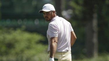 Motivated: Jason Day's mini-meltdown at the Masters is fuelling his PGA Championship bid.