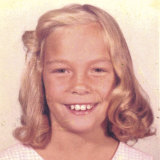 A young Rickie Lee Jones entering fourth grade.