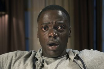 Daniel Kaluuya in a scene from Jordan Peele's satirical horror Get Out.
