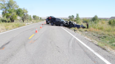 A Melbourne man has been killed and his wife seriously injured after their car was struck in Utah.