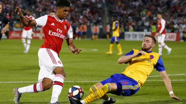 New Arsenal signing Gabriel Martinelli impresses against the Colorado Rapids during the Gunners' USA friendly tour.