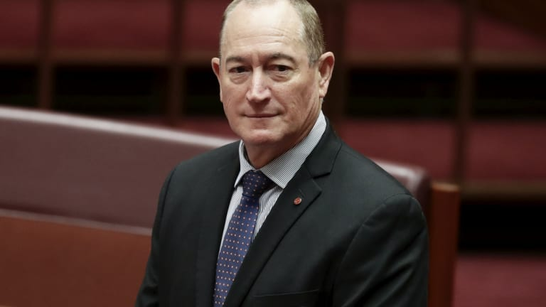 Senator Fraser Anning Picture: Fraser Anning Set The Australian Parliament A Test. It Passed