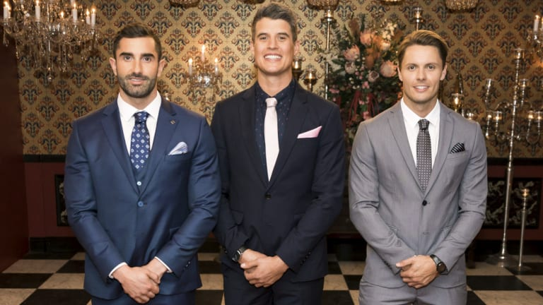 Taite, Bill and Todd are the last three standing on The Bachelorette 2018.