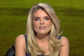 Erin Molan is The Footy Show's reluctant sole survivor