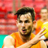 From baby giraffe to GWS cult figure: Sproule to make long-awaited debut