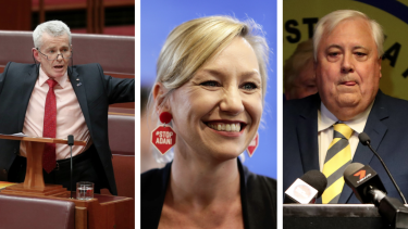 Malcolm Roberts and Larissa Waters, who were embroiled in the citizenship saga are set to win their seats. Clive Palmer has been edged out.