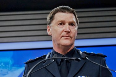 """Chief Commissioner Shane Patton revealed police made three """"informal"""" approaches to access data intended for contact tracing."""
