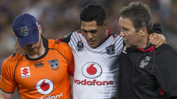 Dally M favourite Tuivasa-Sheck in doubt for Tests