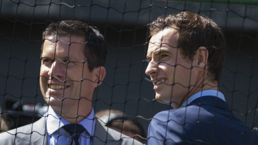 Tim Henman and Andy Murray.