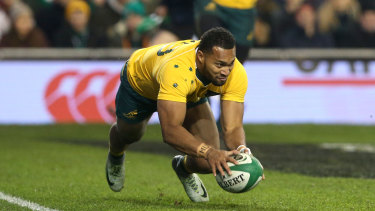Sent home: Sefa Naivalu was sent home from Argentina last month for breaching team protocol.