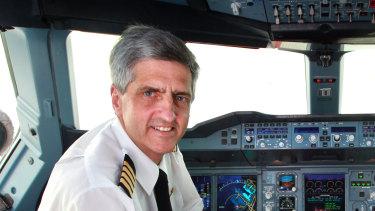 The pilot of flight QF32, Richard de Crespigny.