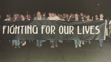 ACON's first candlelight vigil was held on October 1, 1985.
