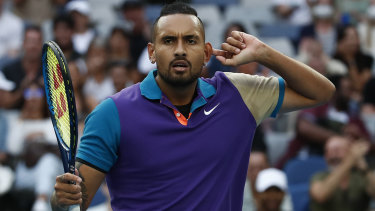Kyrgios has not played a singles match since his defeat to Dominic Thiem in the third round of the Australian Open.