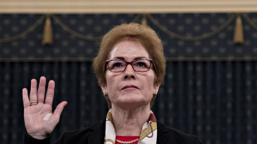 Former US ambassador to Ukraine Marie Yovanovitch provided emotionally compelling testimony.