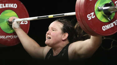 New Zealand's Laurel Hubbard will compete in the 87+ kilogram division at the Tokyo Olympics.