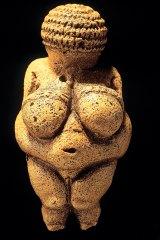 Venus of Willendorf statuette dating from around 25,000 BC.
