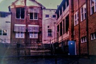 The day after the 1982 Parramatta High school blaze.