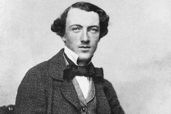 Tom Wills as a young man in 1857 or 1858.
