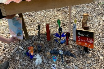 The animal-themed spoonville dedicated to the owls.
