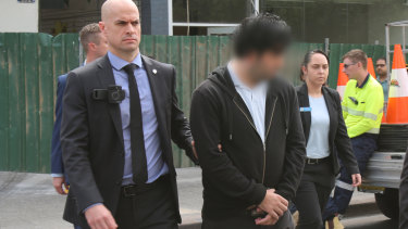 A 32-year-old man was arrested at a Hurstville shopping centre on Friday.