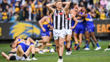 Classic: West Coast's grand final win over Collingwood was one to remember.