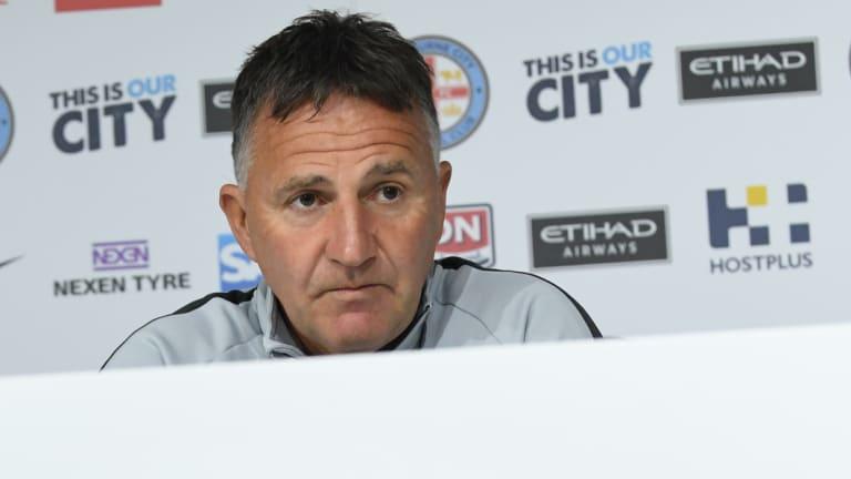 Under-siege Melbourne City coach Warren Joyce.